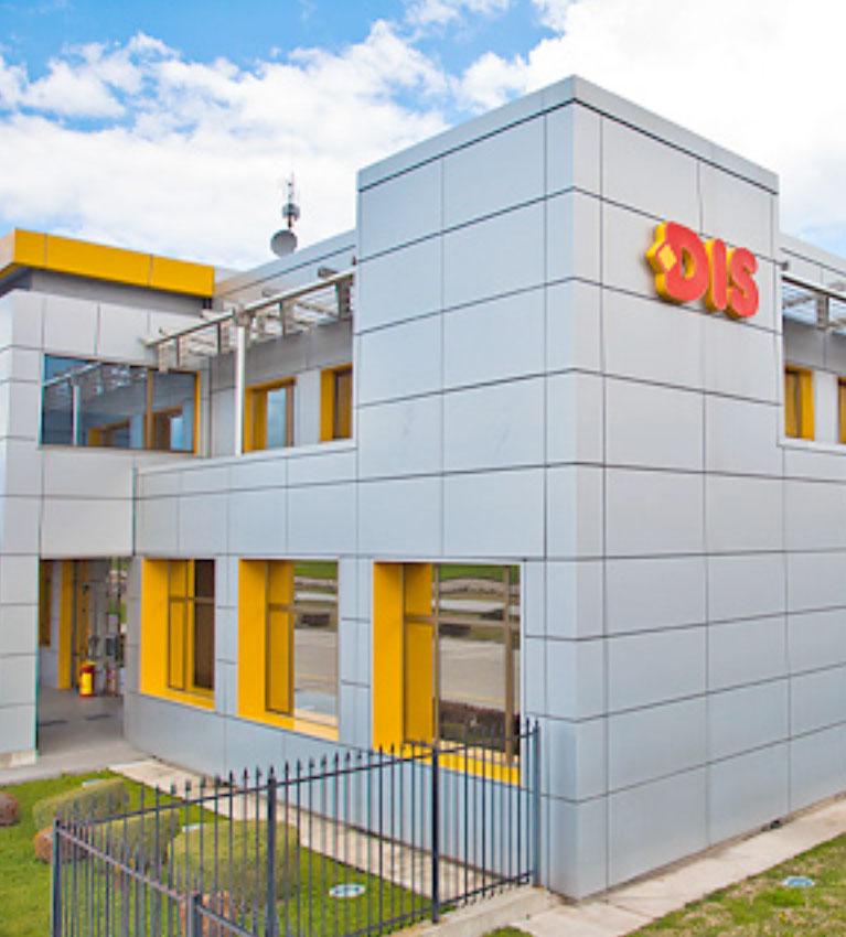 Commercial building PTP DIS